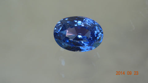Natural Oval Blue Sapphire 6.81ct (Unheated)