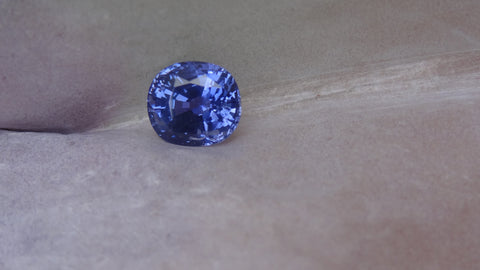 Natural Cushion Blue Sapphire 4.37ct (Unheated)