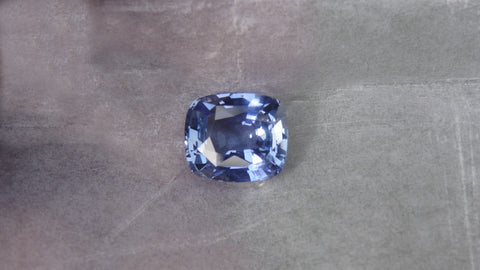 Natural Blue Cushion Sapphire 4.11ct (Unheated)