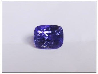 Natural Violet Cushion  Sappnire 4.00ct (Unheated)