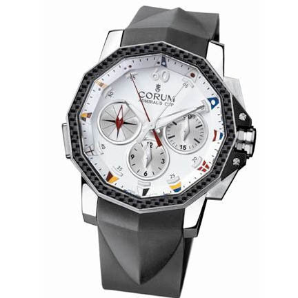 Corum Admiral's Cup Chronograph Mens 986-691-11-F371-AA92