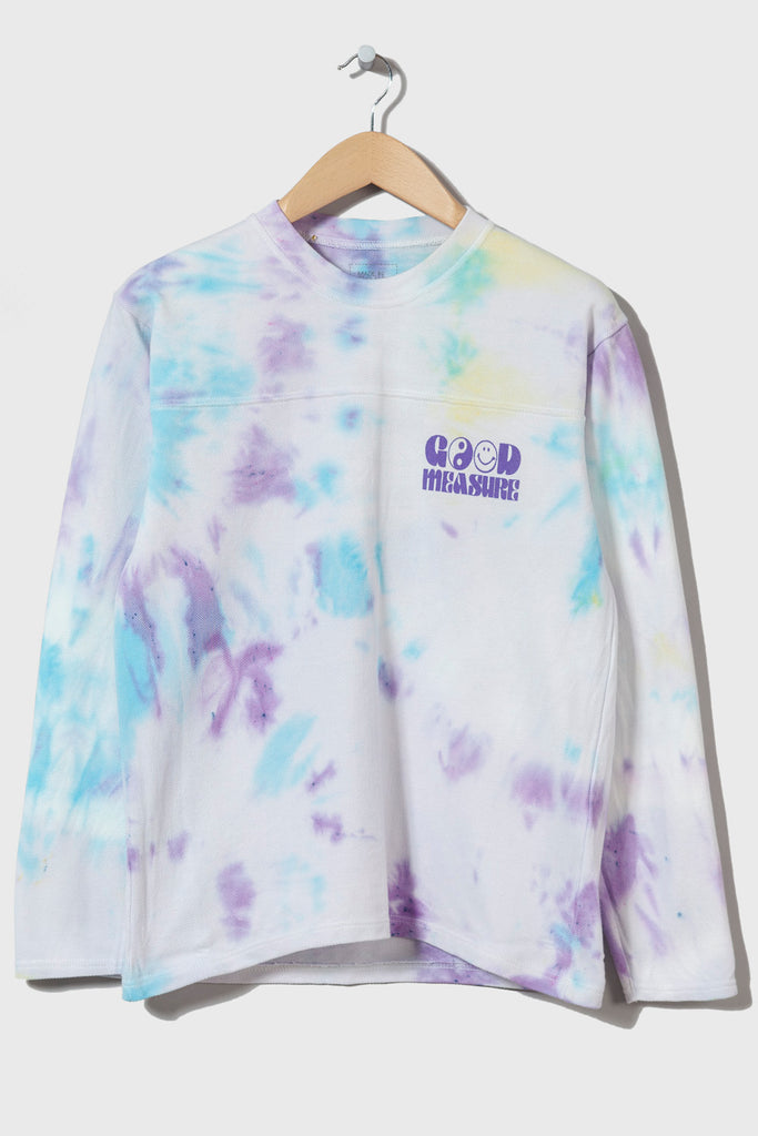 Acid Test M-5 Long Sleeve Piqué  (Tie Dyed #15 - small)