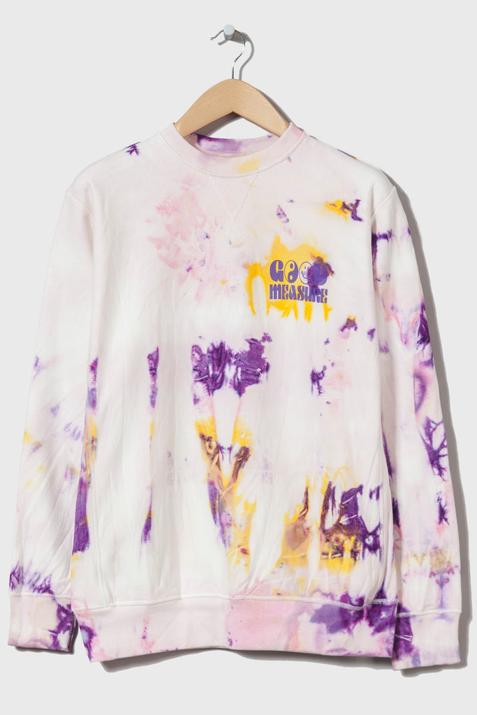 Acid Test M-21 Crew Neck Sweatshirt (Tie Dyed #2 - small)