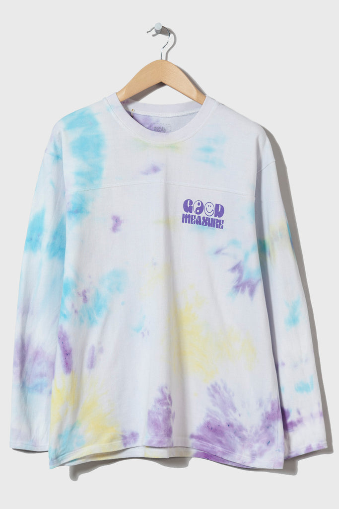 Acid Test M-5 Long Sleeve Piqué  (Tie Dyed #23 - extra large)