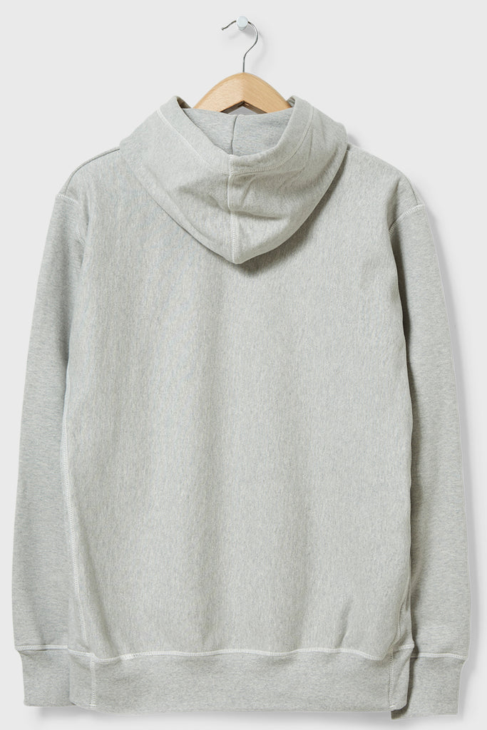 M-20 Shirley Crabtree Hooded Sweatshirt Arch Shadow (Marl Grey)