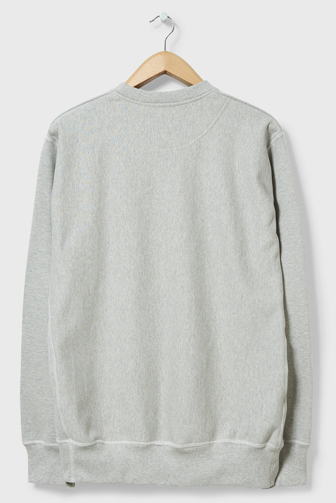 M-21 Shirley Crabtree Crew Neck Sweatshirt Arch Shadow (Marl Grey)