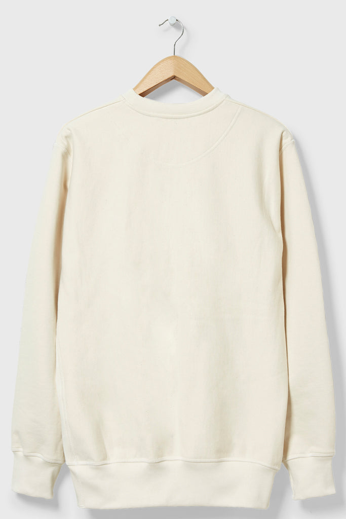 M-21 Shirley Crabtree Crew Neck Sweatshirt (Ecru)