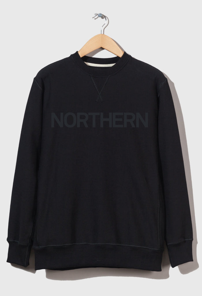 M-21 Crew Neck Sweatshirt 'Northern' (Black)