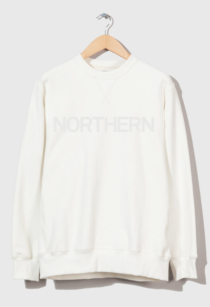 M-21 Crew Neck Sweatshirt 'Northern' (white)