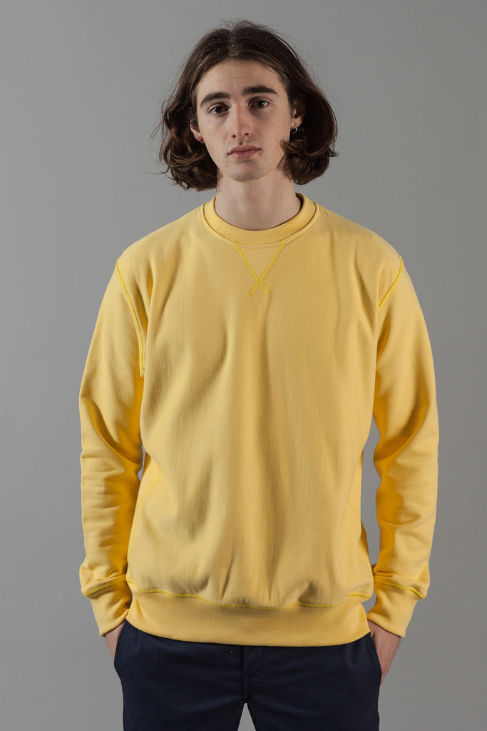 M-21 Heavyweight Crew Neck Sweatshirt (Limon)