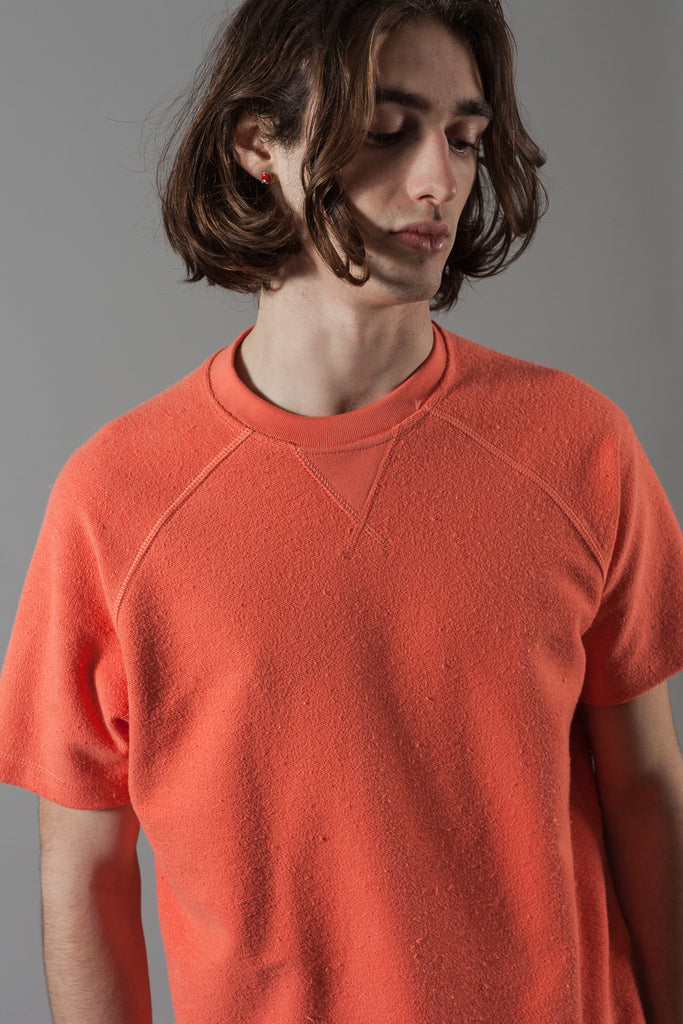 M-16 Reverse Loop Short Sleeve Sweatshirt (Fragola)