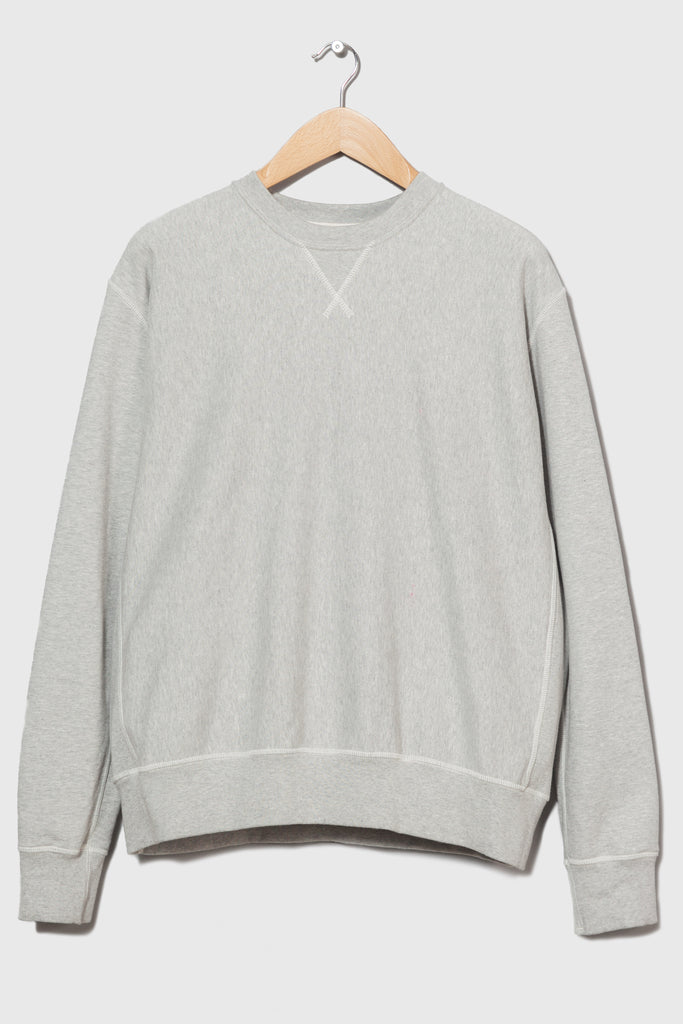 M-21 Shirley Crabtree Crew Neck Sweatshirt (Marl Grey)