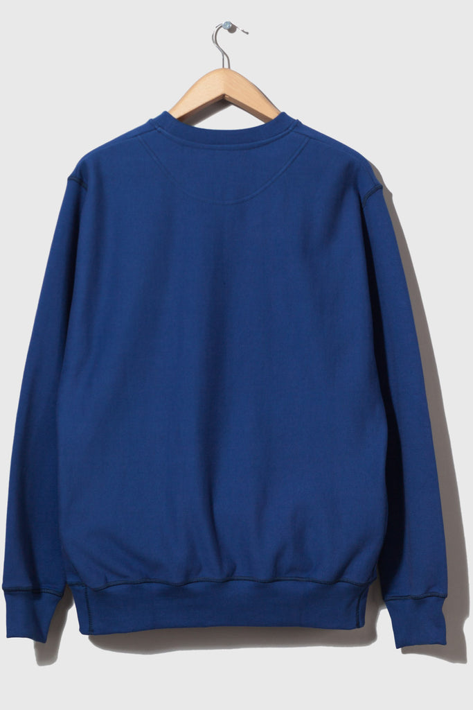 Good Measure x Test Pressing M-21 Heavyweight Crew Neck Sweatshirt (Danish Blue)