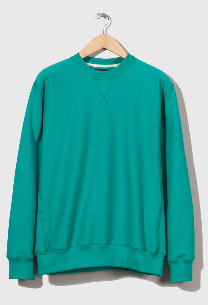 M-21 Crew Neck Sweatshirt Gem pack ( Emerald )