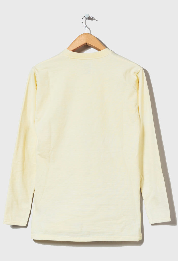 M-5 HEAVYWEIGHT LONG SLEEVE FOOTBALL TOP - (Venus Yellow)