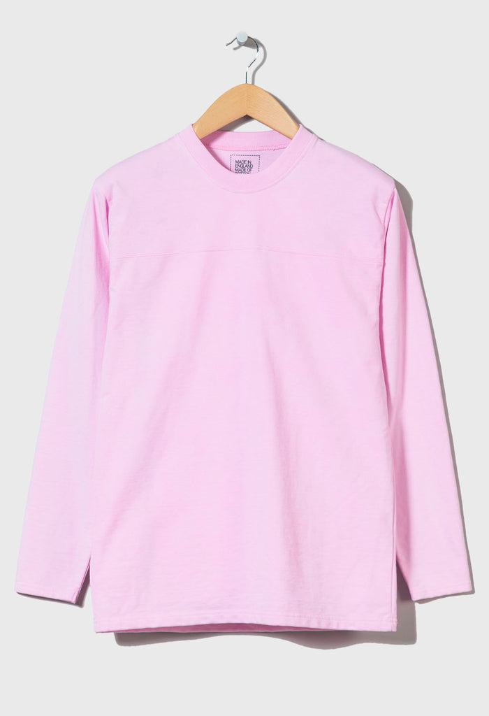 M-5 HEAVYWEIGHT LONG SLEEVE FOOTBALL TOP - (Jupiter Pink)
