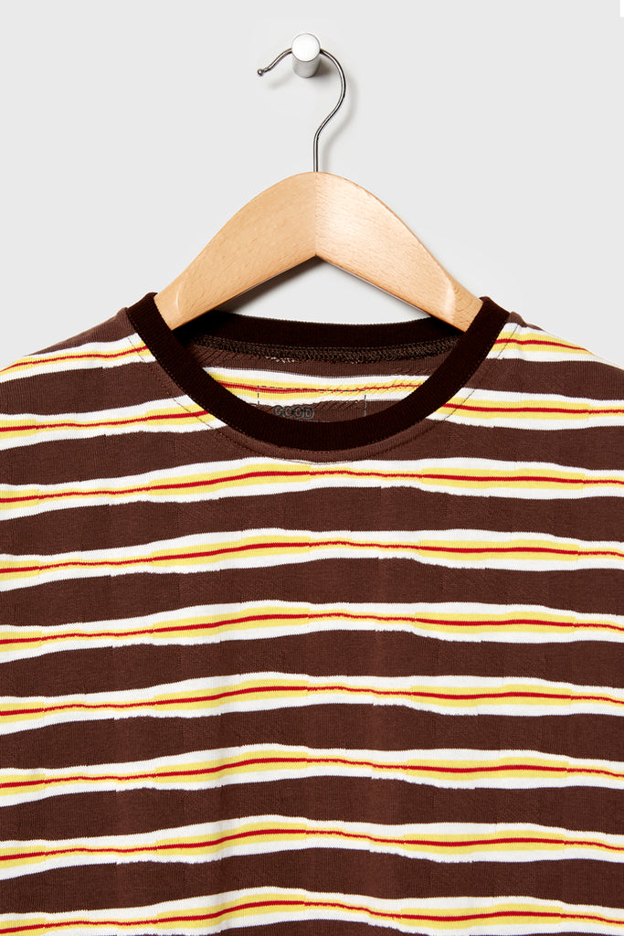 M-4 Dead Stock Vintage Surf Tee (Brown/Yellow)