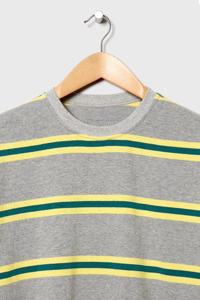 M-4 Dead Stock Vintage Surf Tee  (Grey/Yellow)