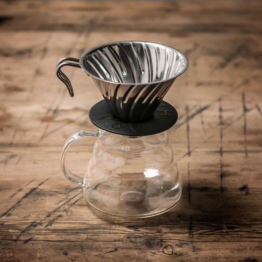 Hario Glass Server and V60 Pour-Over