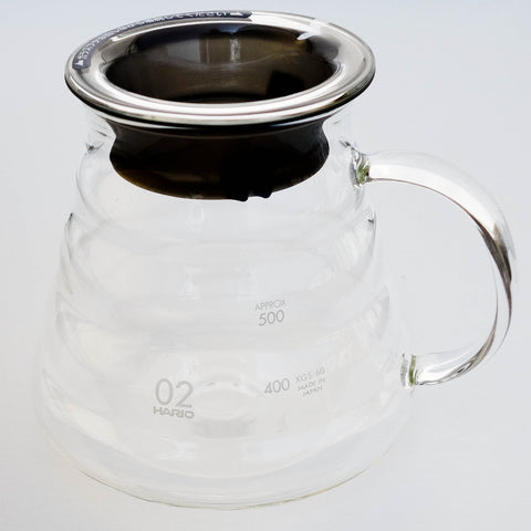 Hario Ribber Glass Server
