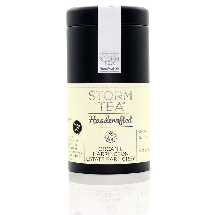 Storm Tea Handcrafted Organic Earl Grey Loose Leaf Tea