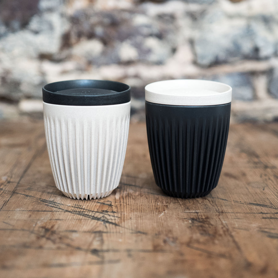 Huskeecup travel mug with lid | Cast Iron Coffee Roasters