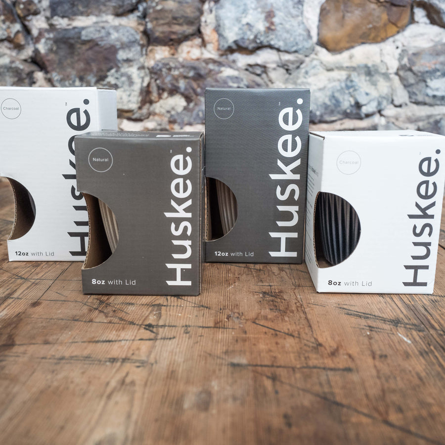 Reusable coffee cups by Huskee | Cast Iron Coffee Roasters