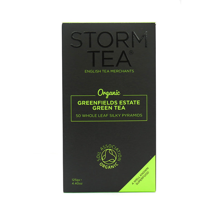 Green Tea 50 Whole Leaf Silky Pyramids