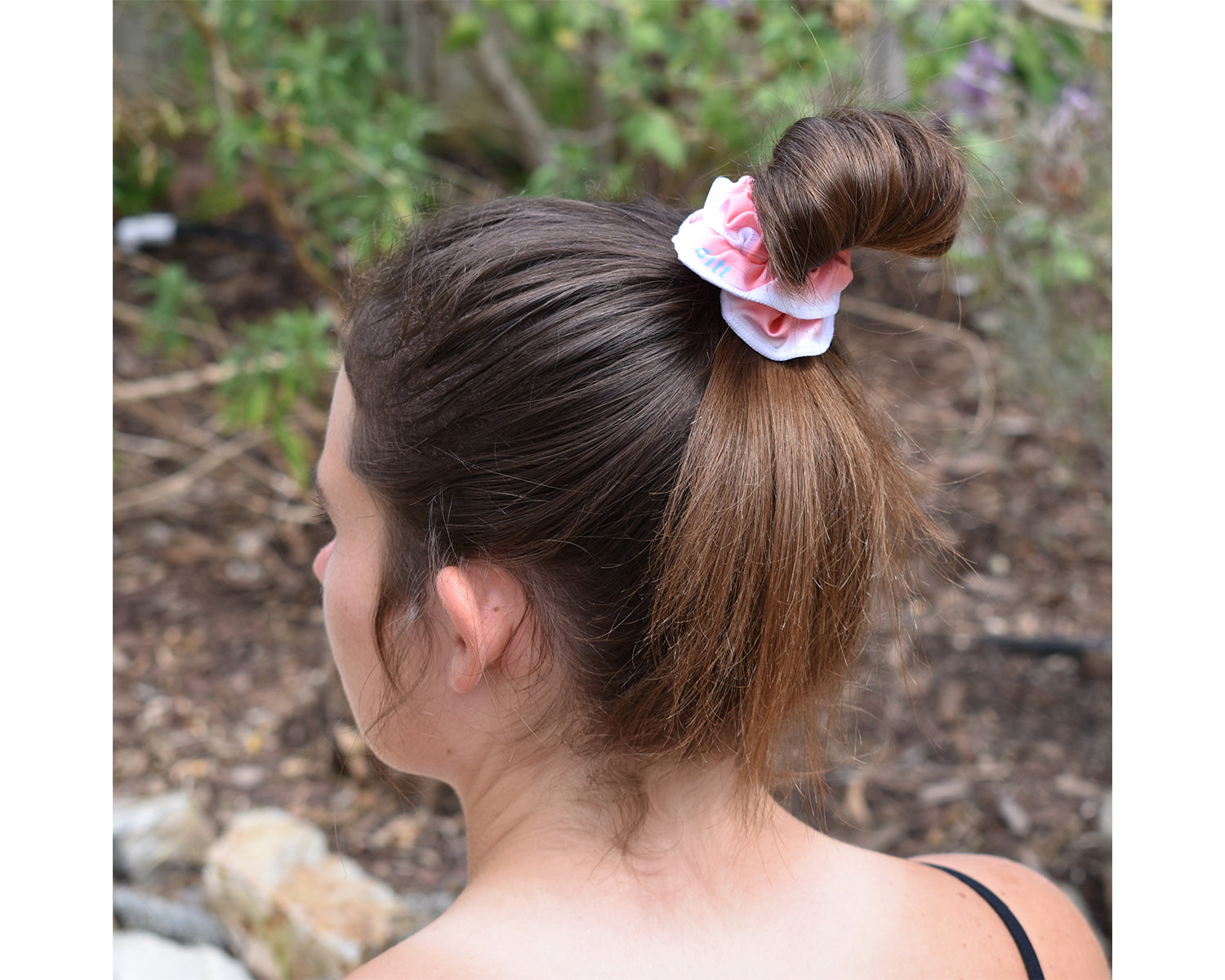 Ombre Hair Scrunchies for Girls, Women, Boys, Men