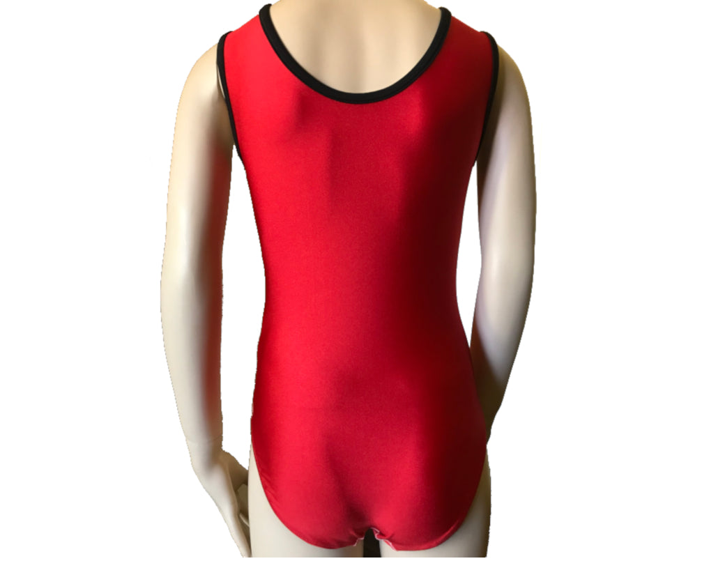 Flash Lightning Bolt Leotard Back