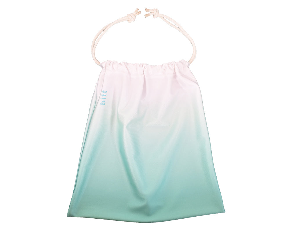 Sublimated Gymnastics Grip Bag in Mint