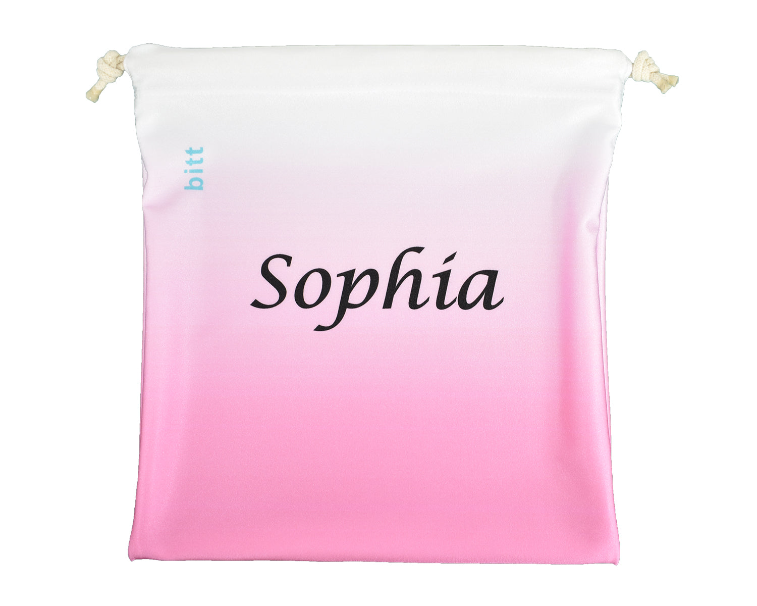 Personalized Gymnastics Grip Bag in Pink Ombre
