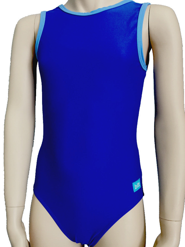 Royal Prints Tank Leotard front