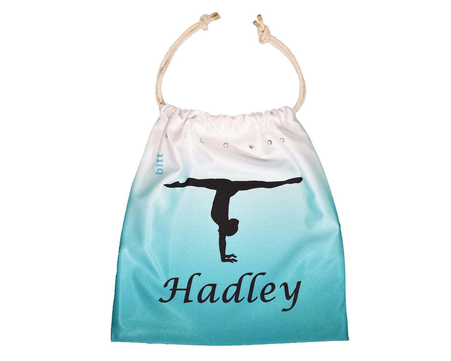 Teal Ombre Handstand Gymnastics Grip Bag