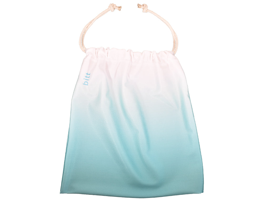 Teal White Ombre Gymnastics Grip Bag