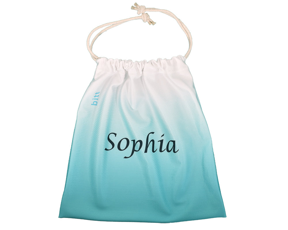 Gymnastics Grip Bag Teal Personalized