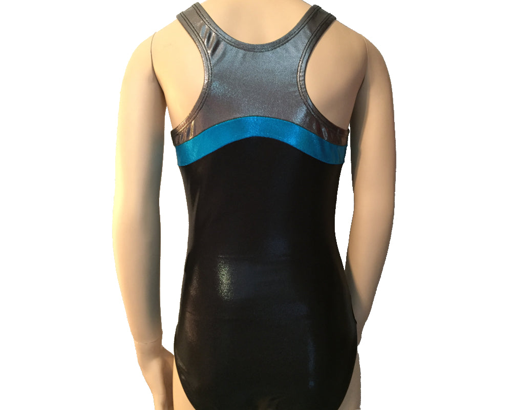 Team gymnastics racerback leotard for girls