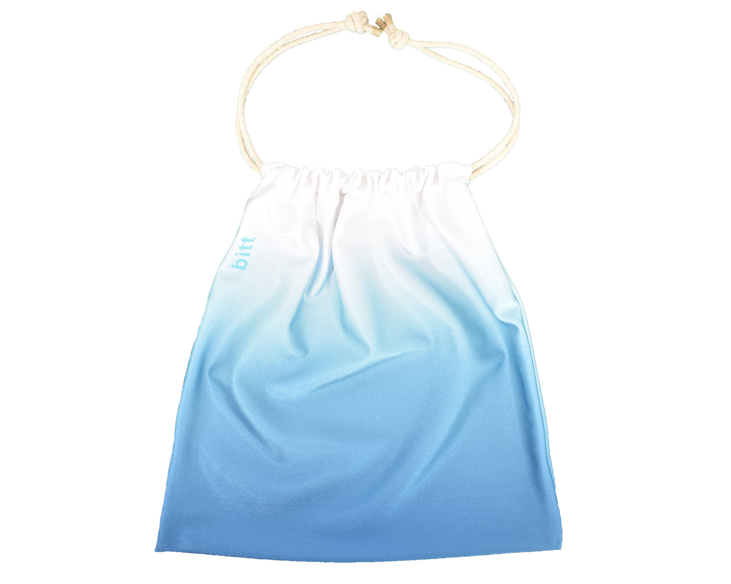 Gymnastics Grip Bag Turquoise Drawstring Bag