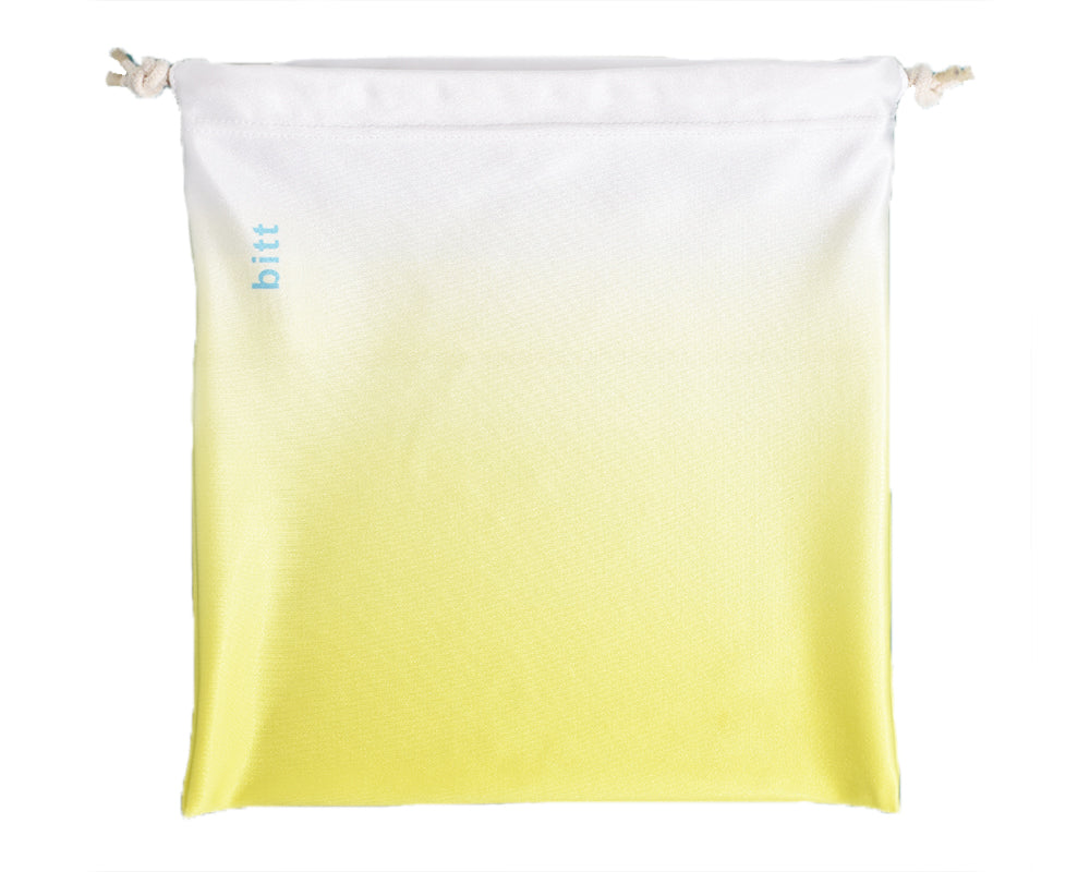 Gymnastics Grip Bag in Yellow White Ombre