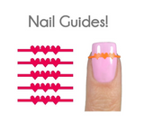String of Hearts Nail Guides