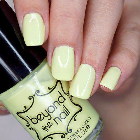 Booming Banana - Soft Neon Nail Polish