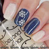 Snowflakes Nail Decals (Thick)