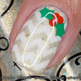 Holly Nail Decals