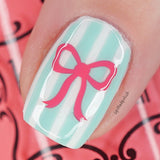 Dainty Bows Nail Decals