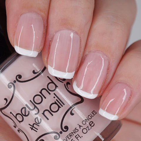 French Manicure Bridal Set