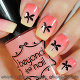 Palm Tree Nail Decals