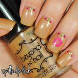 Hibiscus Flower Nail Decals