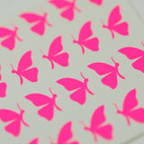 Butterflies (Side) Nail Decals