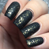 Gold Flake Top Coat