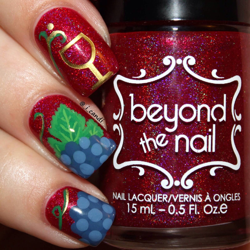 Wine Glass Nail Decals – Beyond the Nail